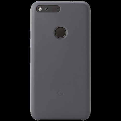 Google Pixel Silikon Case grau hinten 99925835