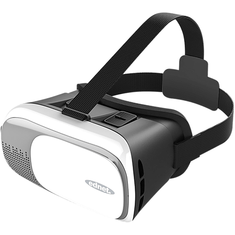 ednet Virtual Reality 3D-Brille für Smartphones Weiß 99925986 hero