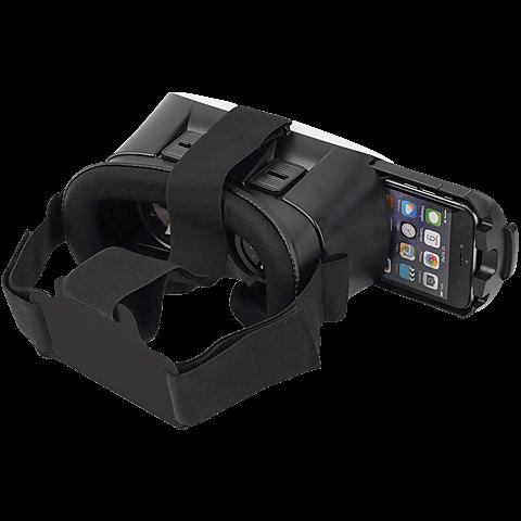 ednet Virtual Reality 3D-Brille für Smartphones Weiß 99925986 hinten