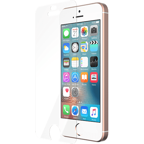 Tech21 Impact Shield Schutzfolie iPhone 5/5s/SE transparent vorne 99925456