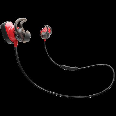 BOSE Soundsport Pulse Wireless rot vorne 99925370