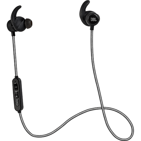 JBL Reflect Mini BT In-Ear Bluetooth-Sportkopfhörer Schwarz 99925495 vorne