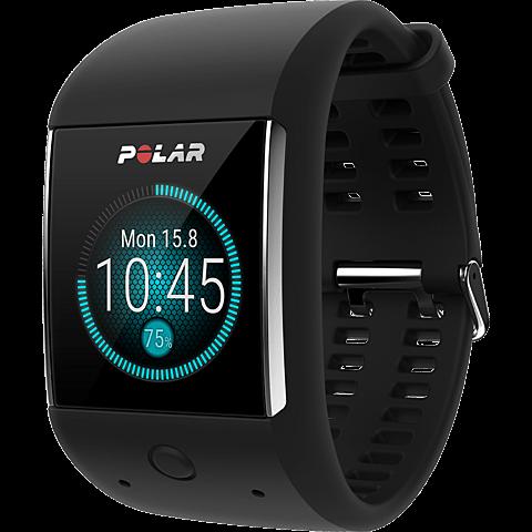 Polar M600 schwarz 99926046 seitlich
