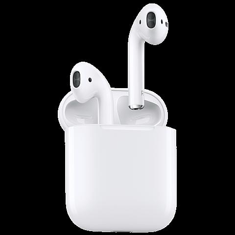 Apple AirPods Weiß 99926040 hinten