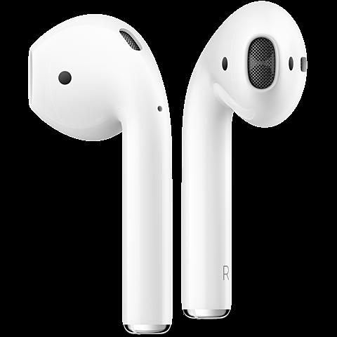 Apple AirPods Weiß 99926040 seitlich