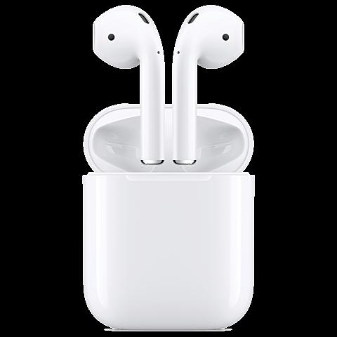 Apple AirPods Weiß 99926040 vorne