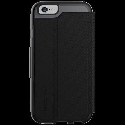 Tech21 Evo Wallet Hülle Apple iPhone 7 schwarz hinten 99925440