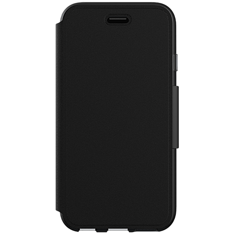 Tech21 Evo Wallet Hülle Apple iPhone 7 schwarz vorne 99925440