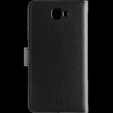 xqisit Slim Wallet Huawei Y6 II Compact Schwarz 99926054 hinten