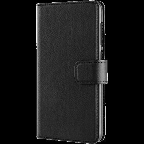 xqisit Slim Wallet Huawei Y6 II Compact Schwarz 99926054 seitlich