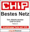 Chip - Bestes Netz - Telekom 2017