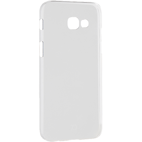 xqisit iPlate Cover Transparent Samsung Galaxy A5 (2017) 99926026 seitlich