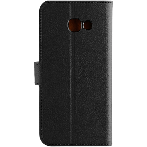 xqisit Slim Wallet Selection Schwarz Samsung Galaxy A5 (2017) 99926024 hinten