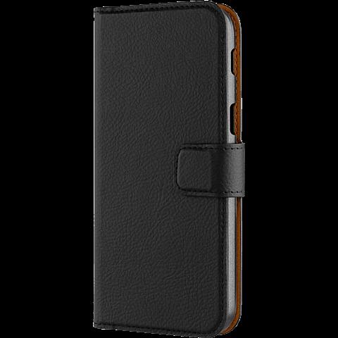 xqisit Slim Wallet Selection Schwarz Samsung Galaxy A5 (2017) 99926024 seitlich