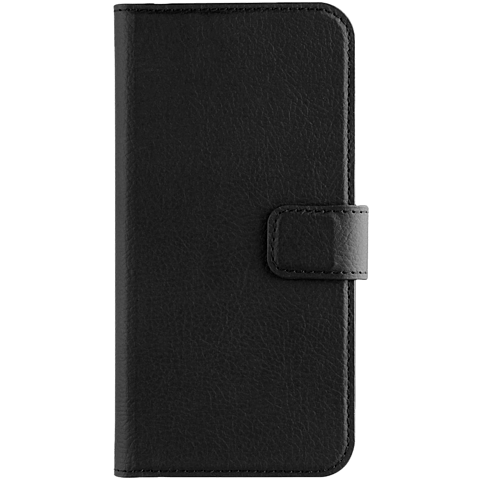 xqisit Slim Wallet Selection Schwarz Samsung Galaxy A5 (2017) 99926024 vorne
