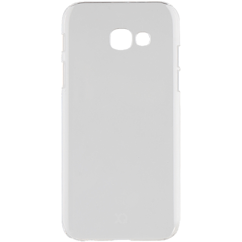 xqisit iPlate Cover Transparent Samsung Galaxy A3 (2017) 99926025 hinten