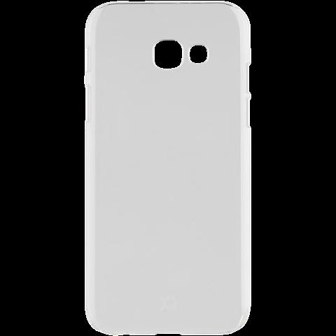 xqisit iPlate Cover Transparent Samsung Galaxy A3 (2017) 99926025 hinten
