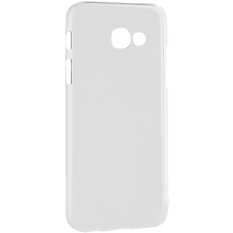 xqisit iPlate Cover Transparent Samsung Galaxy A3 (2017) 99926025 seitlich