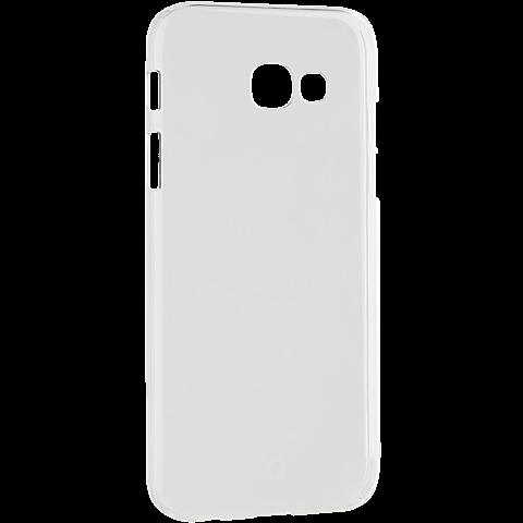 xqisit iPlate Cover Transparent Samsung Galaxy A3 (2017) 99926025 seitlich