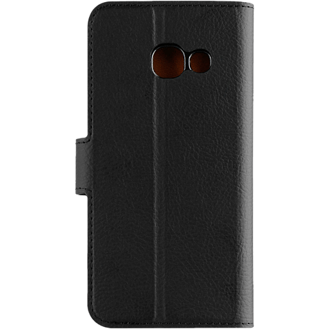 xqisit Slim Wallet Selection Schwarz Samsung Galaxy A3 (2017) 99926023 hinten