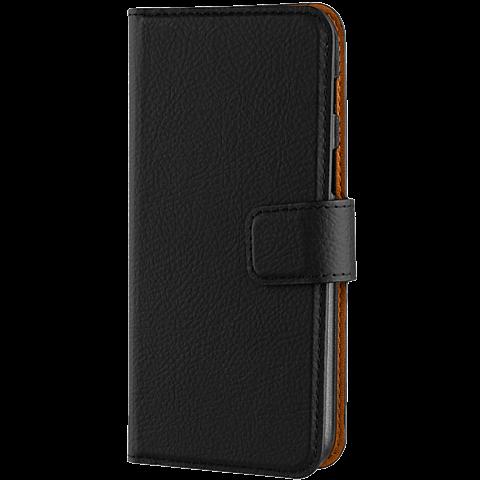 xqisit Slim Wallet Selection Schwarz Samsung Galaxy A3 (2017) 99926023 seitlich
