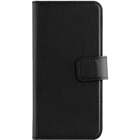 xqisit Slim Wallet Selection Schwarz Samsung Galaxy A3 (2017) 99926023 vorne