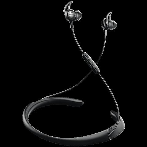BOSE QuietControl 30 Wireless Headphones Schwarz 99925371 seitlich
