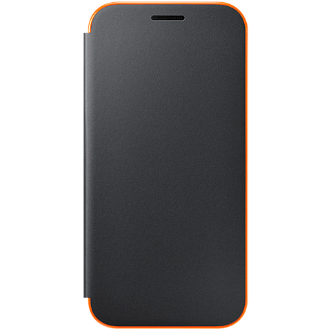 Samsung Neon Flip Cover Schwarz Galaxy A3 (2017) 99926107 vorne
