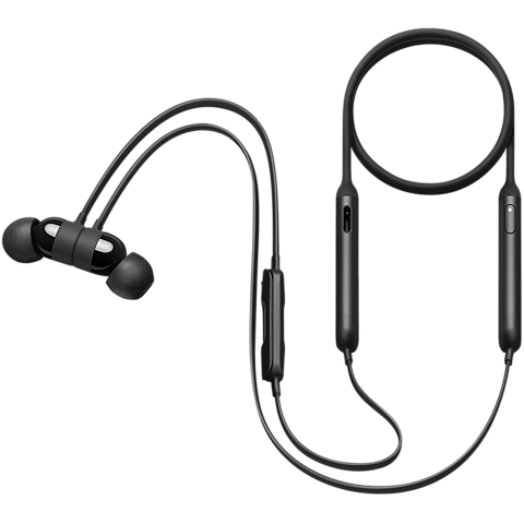 Beats X Wireless In-Ear Bluetooth-Kopfhörer Schwarz 99926323 seitlich