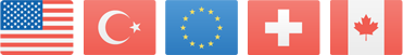 Kreuz und quer durch die EU – und durch die Schweiz, USA, Kanada und die Türkei