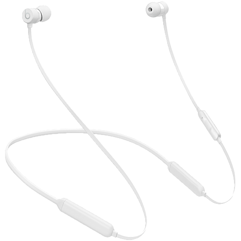 Beats X Wireless In-Ear Bluetooth-Kopfhörer Weiß 99926324 vorne