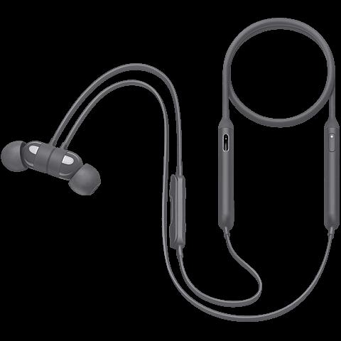 Beats X Wireless In-Ear Bluetooth-Kopfhörer Grau 99926326 seitlich