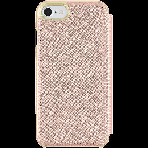 Kate Spade New York Folio Case Saffiano Roségold Apple iPhone 7 99926258 hinten