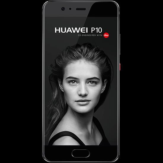 Huawei P10 schwarz hero