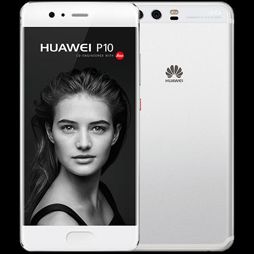 Huawei P10 silber vorne und hinten