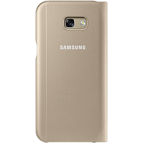 Samsung S-View Standing Cover Gold Galaxy A5 (2017) 99926114 hinten