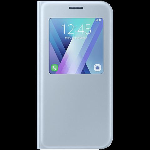 Samsung S-View Standing Cover Blau Galaxy A5 (2017) 99926112 vorne
