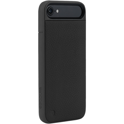 Incase ICON II Case Leather Black Apple iPhone 7 99926284 seitlich