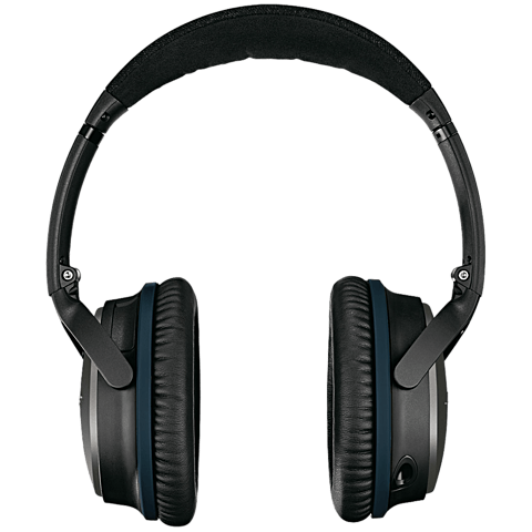 BOSE QuietComfort 25 Acoustic Noise Cancelling Headphones Schwarz Apple-Geräte 99923812 hinten