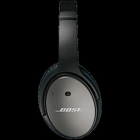 BOSE QuietComfort 25 Acoustic Noise Cancelling Headphones Schwarz Apple-Geräte 99923812 seitlich
