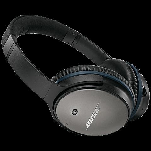 BOSE QuietComfort 25 Acoustic Noise Cancelling Headphones Schwarz Apple-Geräte 99923812 vorne