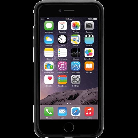 Griffin Reveal Case Apple iPhone 6/6s schwarz vorne 99923733