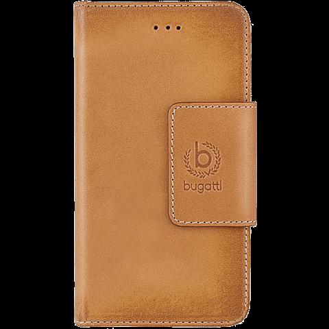Bugatti BookCover Amsterdam Apple iPhone 6/6s cognac vorne 99923708