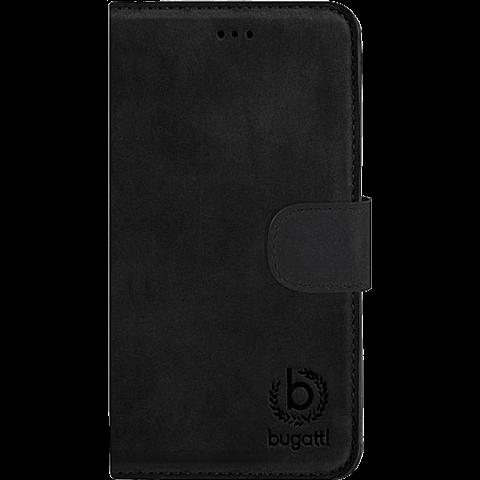 Bugatti BookCover Amsterdam Apple iPhone 6/6s schwarz vorne 99923710