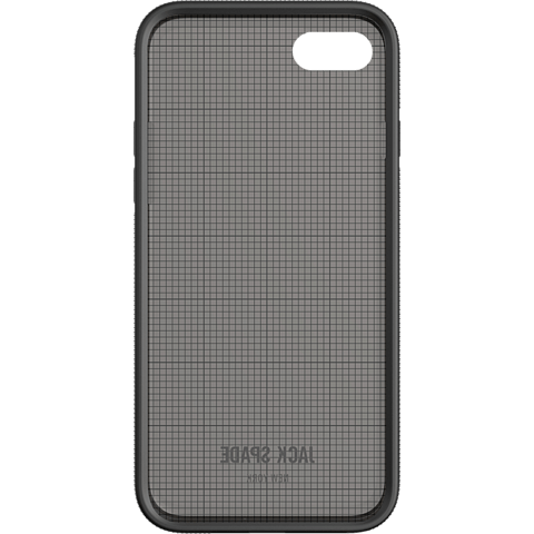 Jack Spade Printed Clear Case Graph Check Smoke Apple iPhone 7 99926262 hinten
