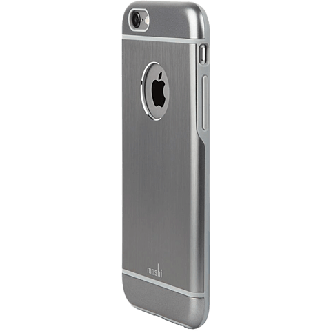 Moshi Cover iGlaze Armour Apple iPhone 6/6s grau hinten 99923750