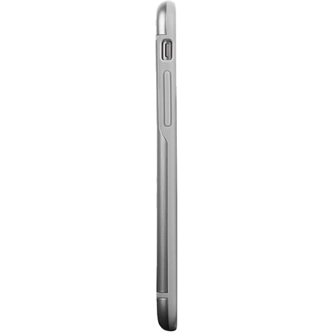 Moshi Cover iGlaze Armour Apple iPhone 6/6s grau seitlich 99923750