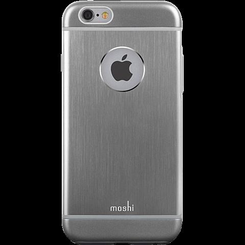 Moshi Cover iGlaze Armour Apple iPhone 6/6s grau vorne 99923750
