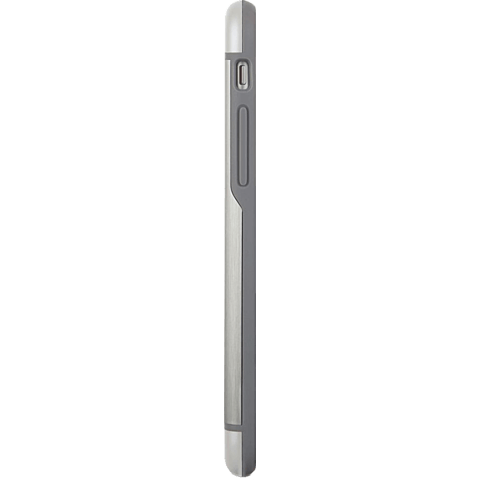 Moshi Cover iGlaze Armour Apple iPhone 6/6s silber seitlich 99923751