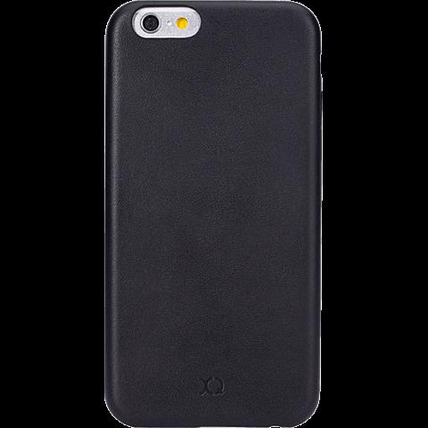 xqisit iPlate Gimone Apple iPhone 6/6s schwarz vorne 99923754